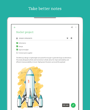 Evernote APK screenshot thumbnail 8