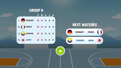 Head Basketball Tournament - screenshot