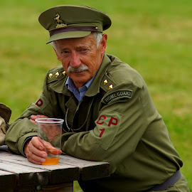 Home Guard by Mick Wells - People Portraits of Men (  )