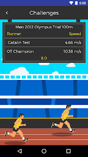 Cadence: Olympus Trials Fitness app screenshot for Android