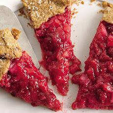 Rhubarb and Raspberry Crostata Recipe | Yummly