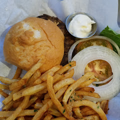 gluten freedom burger with fries