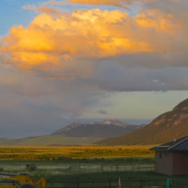 After the Storm by Marilyn Kircus - Landscapes Weather ( clouds, montana skies, weaather, big skies, landscapes )