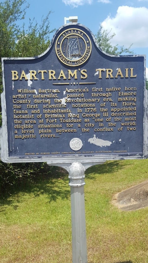 William Bartram, America's first native born artist-naturalist, passed through Elmore County during the Revolutionary era, making the first scientific notations of its flora, fauna and inhabitants. ...