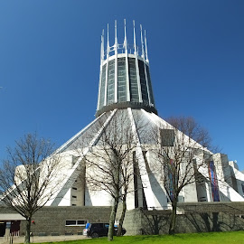 Cathedral by Dave Turner - Buildings & Architecture Places of Worship ( building, liverpool, cathedral, architecture, religious )
