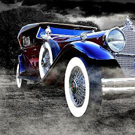 Packard Phaeton by JEFFREY LORBER - Transportation Automobiles ( classic car, lorberphoto, rust 'n chrome, packard, jeffrey lorber )