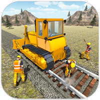 , Train Track Construction 2017 For PC (Windows And Mac)