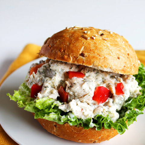 Feta Dill Chicken Salad