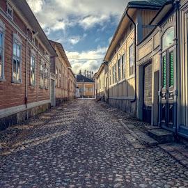 by Bojan Bilas - City,  Street & Park  Neighborhoods