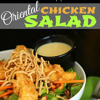 Our Version of Applebee's Oriental Chicken Salad