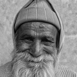 Pious man by Kaushik Dolui - People Portraits of Men ( portrait )