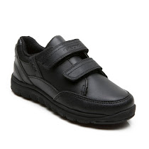 Geox Xunday Strap Shoe VELCRO SCHOOL SHOE