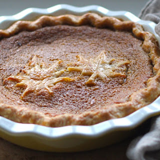 French Canadian Maple Syrup Pie