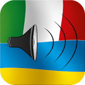 Italian / Ukrainian talking phrasebook translator