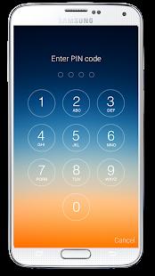 OS8 Lock Screen Screenshot