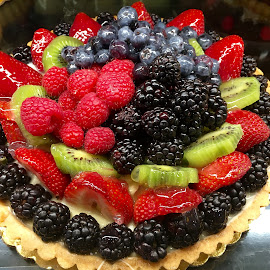 Fruit Tart by Lope Piamonte Jr - Food & Drink Candy & Dessert