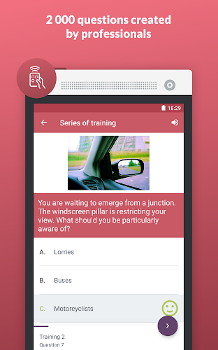 Driving test (free) Android App Screenshot