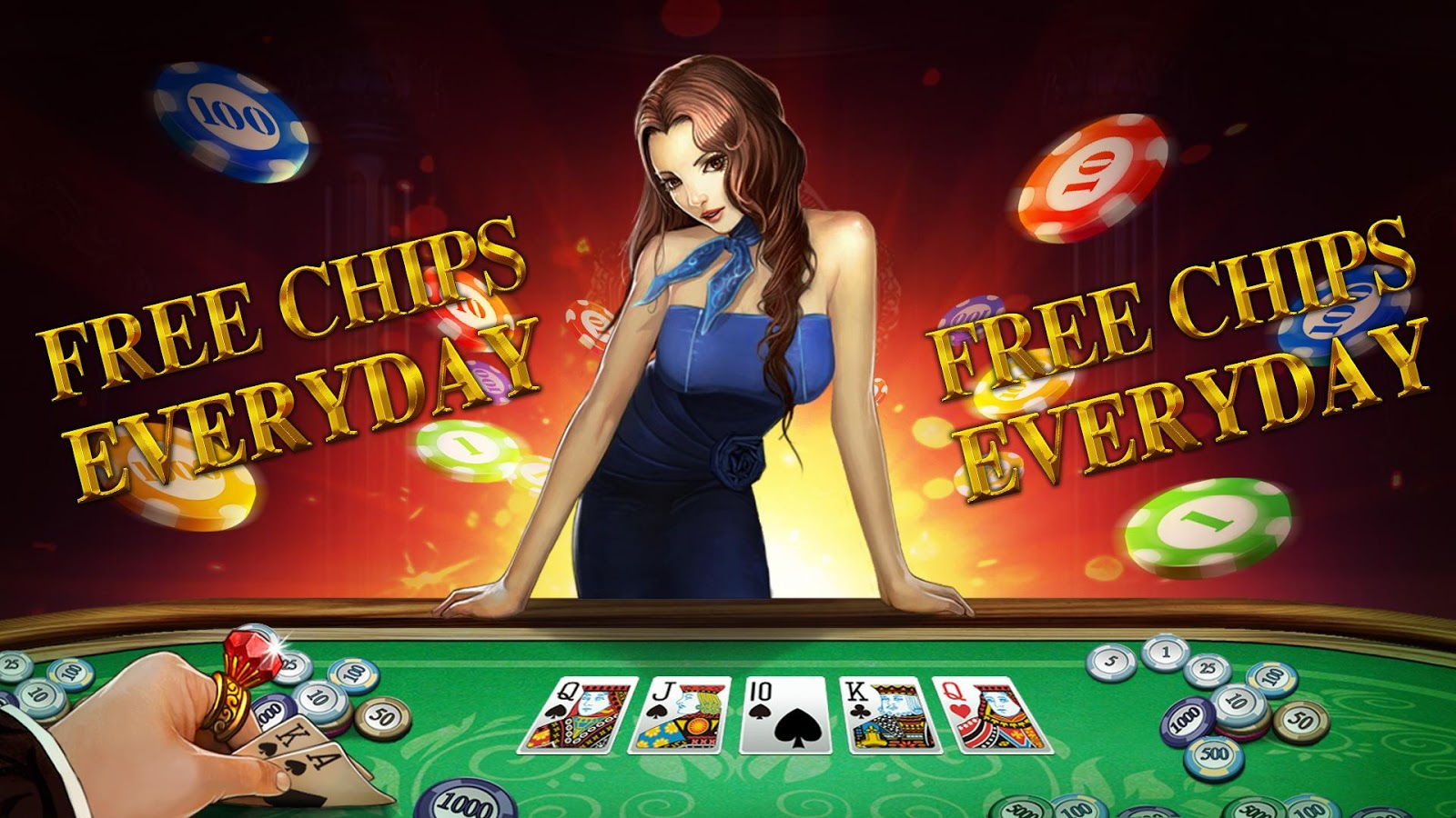 DH Texas Poker - Texas Hold'em Screenshot 1