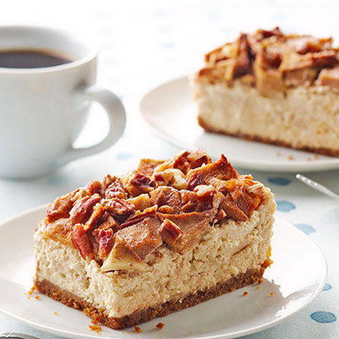 Apple-Pecan Cheesecake