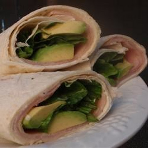 Smoked Turkey Tortilla Wraps
