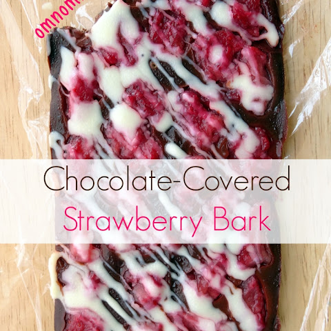 Chocolate-Covered Strawberry Bark