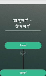 অনুসর্গ - উপসর্গ - screenshot