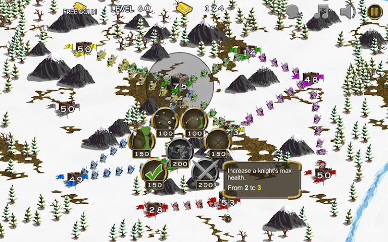 android Castles in War Screenshot 6