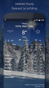 Bastion7 Weather Live Wallpapers Collection screenshot for Android