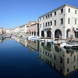 Canal Vena by Alberto Schiavo - City,  Street & Park  Vistas