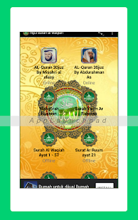 App Mp3 Surah Al Waqiah APK for Windows Phone
