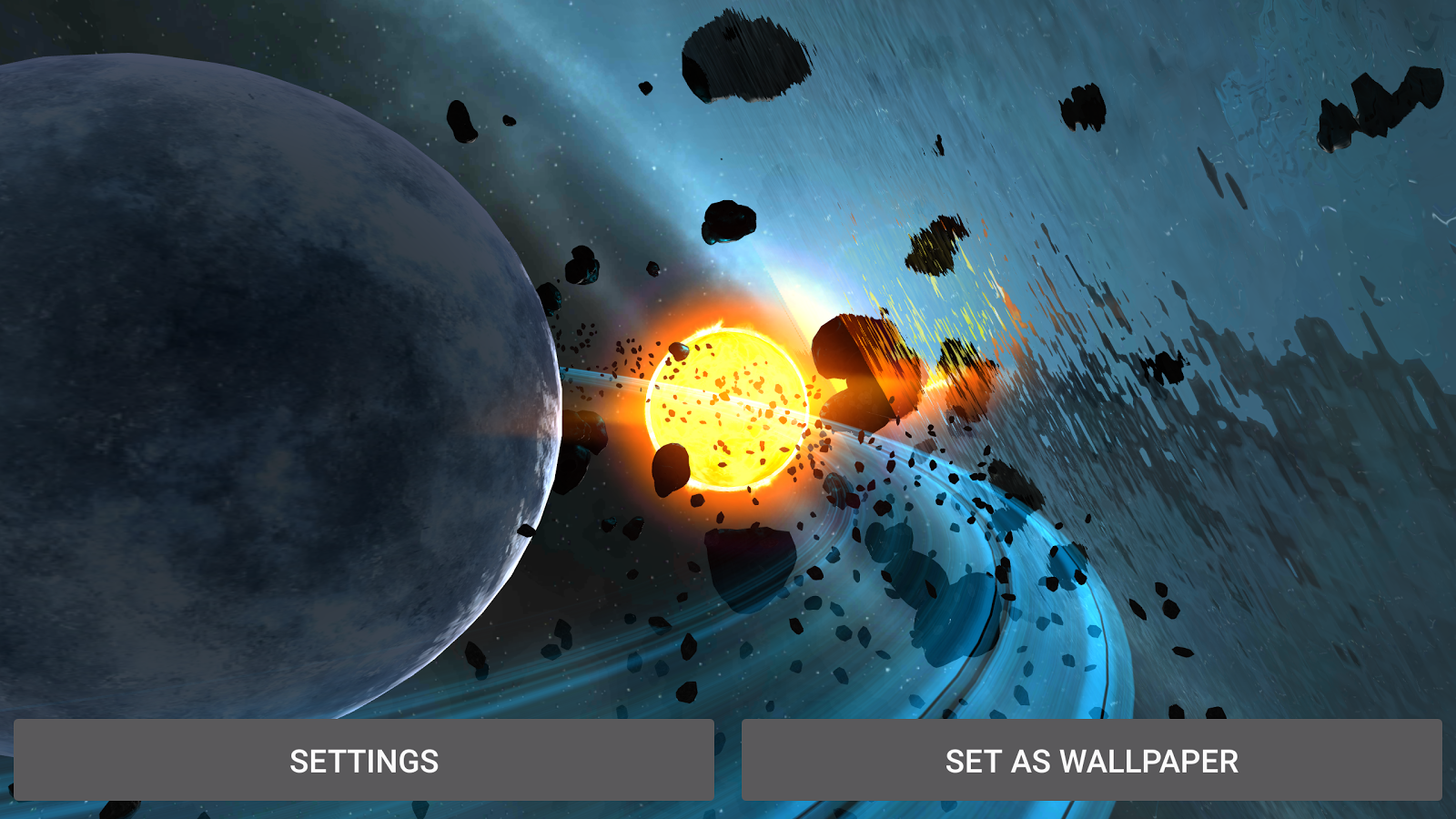 Alien Galaxy 3D Live Wallpaper Screenshot 15