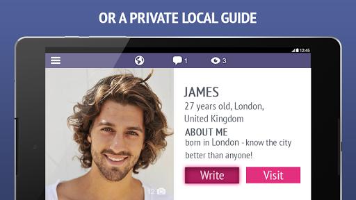 TourBar - find a travel buddy - screenshot