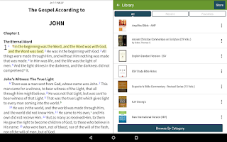 Screenshot of NKJV Bible+ by Olive Tree