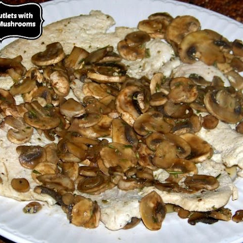 It's Turkey! Tender Turkey Cutlets with Sherry Mushrooms