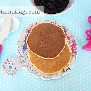 Diet Wheat Bran Pancakes