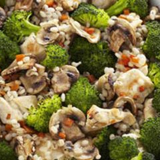 Roasted Broccoli and Chicken Bake