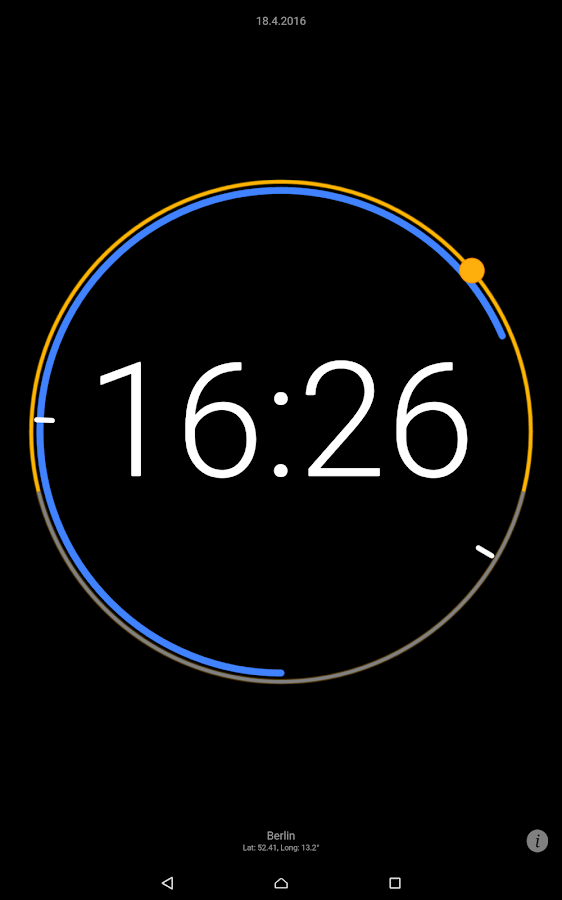 Sun Clock Screenshot 7