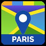Paris Travel Maps Icon