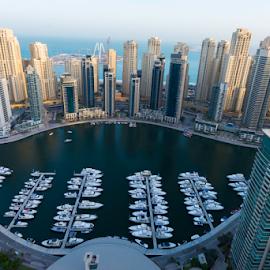 Dubai Marina by Aamir Munir - Buildings & Architecture Office Buildings & Hotels ( dubai, yacht, dubai marina, yacht club, marina )