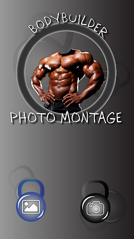 android Bodybuilder Photo Montage Screenshot 0