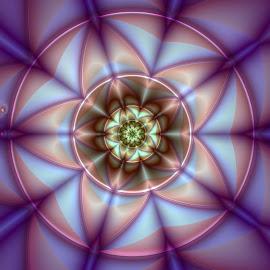 by Cassy 67 - Illustration Abstract & Patterns ( pattern, ornament, digital art, star, harmony, fractal, digital, fractals, flower )