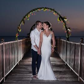 Love by Andrew Morgan - Wedding Bride & Groom ( destination wedding photographer, love, zanzibar, wedding, island wedding )