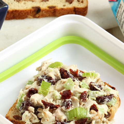 Chicken Salad with Dried Cherries and Sunflower Seeds…and 2 More Easy Lunch Recipes for Back to School