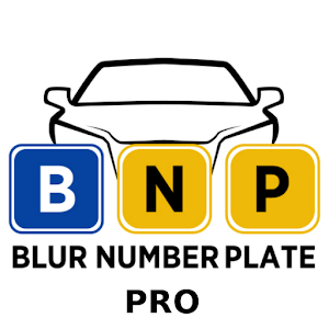 Blur Number Plate Pro For PC
