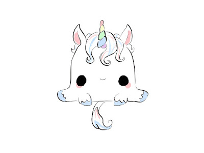 Baby Unicorn By LittleDraws