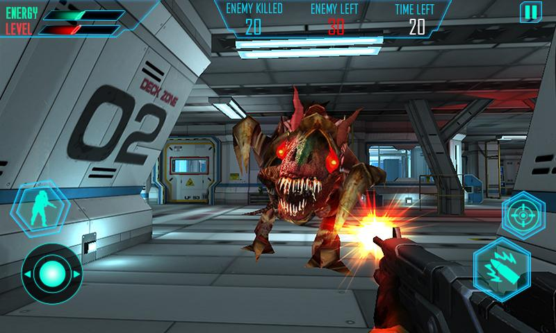 Alien Space Shooter 3D Screenshot 1