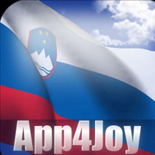 Android aplikacija 3D Slovenia Flag Live Wallpaper na Android Srbija