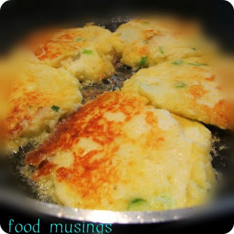 Left Over Mashed Potato Patties