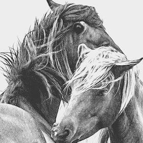 two horses close glow.jpg