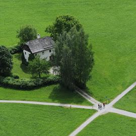 Cottage in Salzburg by Drew Tarter - Landscapes Travel ( europe, salzburg, cottage, scenic, travel, austria )